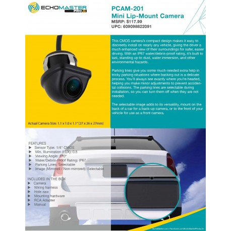 PCAM-201 One Pager