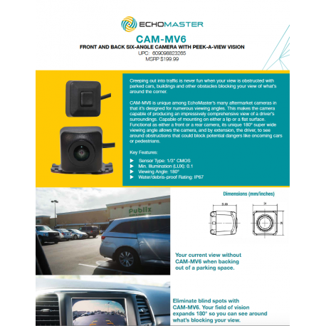 CAM-MV6 One Sheet
