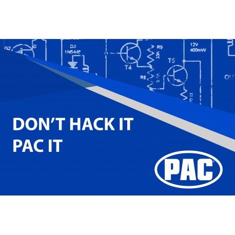 Don't Hack it PAC It