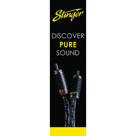 Stinger Web Banner 160X600 RCA Black