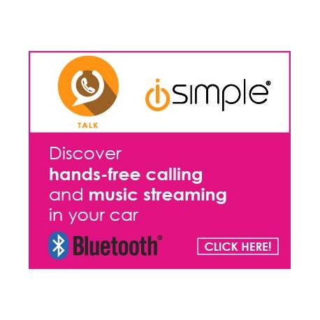 iSimple Web Banner 180X150 BT Hands-Free