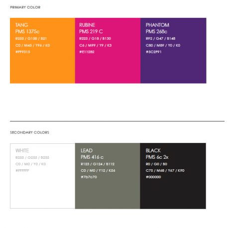 iSimple Color Palette