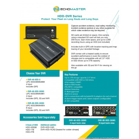 HDD-DVR One Sheet
