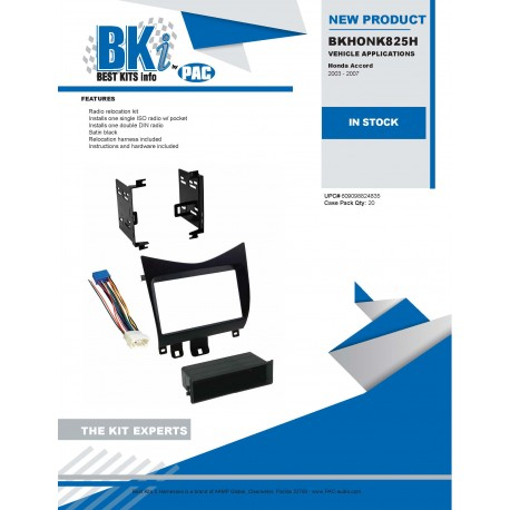 BKHONK825H Product Sheet