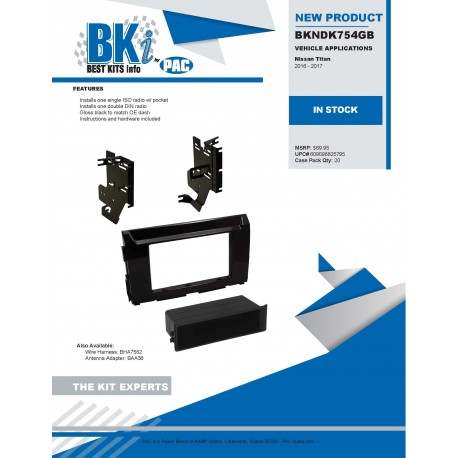 BKNDK754GB Product Sheet