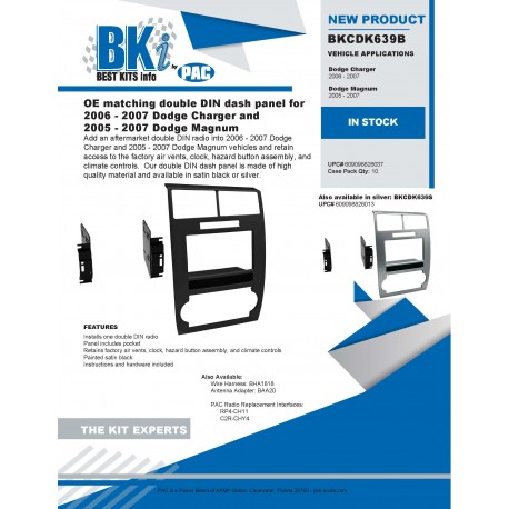 BKCDK639B and BKCDK639S Product Sheet