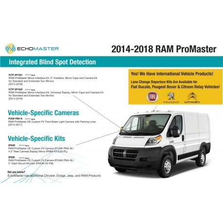 Dodge Promaster Info Panel