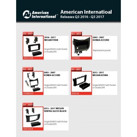 American International - Releases Q3 2016 - Q3 2017