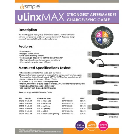 uLinxMAX One Sheet