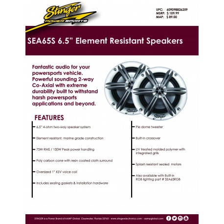 SEA65S One Pager