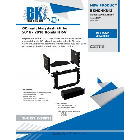 BKHONK813 Product Sheet