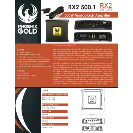 RX2 500.1 One Sheet