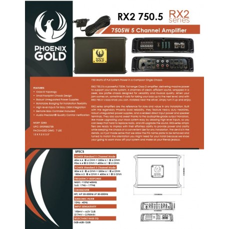 RX2 750.5 One Sheet
