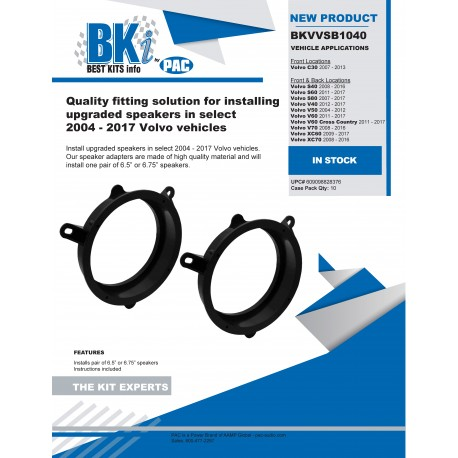 BKVVSB1040 Product Sheet