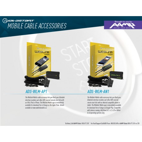 iDataStart ADS Mobile Cables One Sheet
