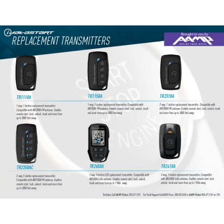 iDataStart Replacement Transmitters One Sheet