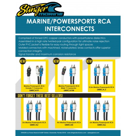 Marine RCA Cables One Sheet