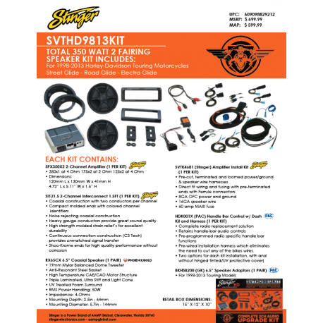 SVTHD9813KIT One Sheet
