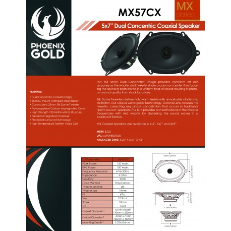 MX57CX One Sheet