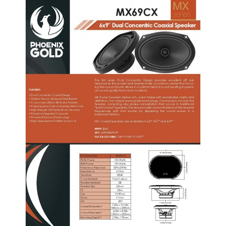 MX69CX One Sheet