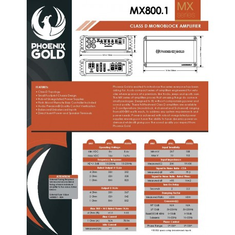 MX800.1 One Sheet