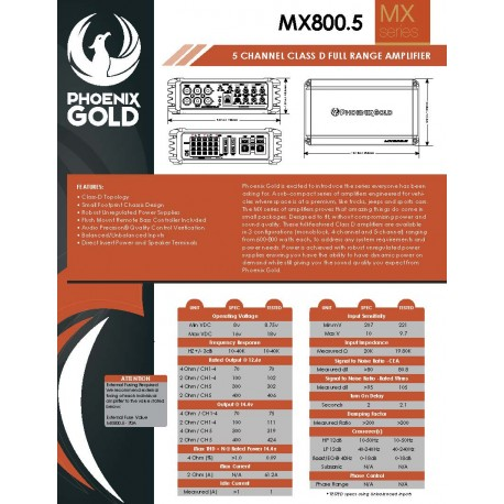 MX800.5 One Sheet